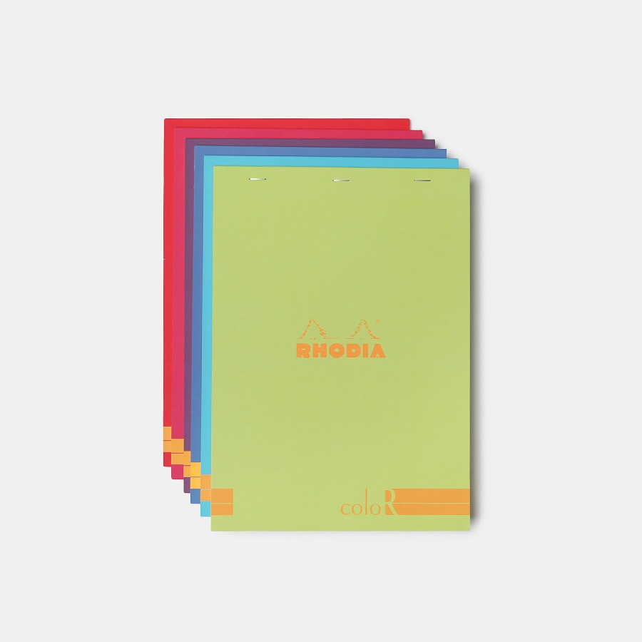 Rhodia A4 ColoR Notepads (6-Pack)