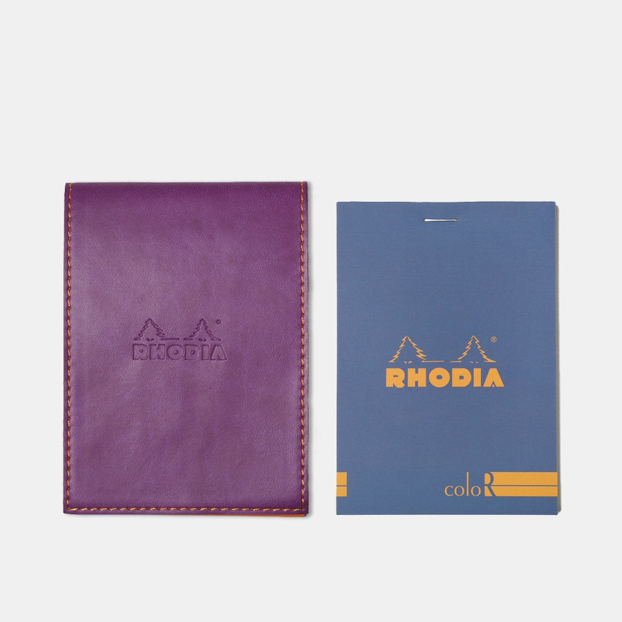 Rhodia ColoR Pocket Notepads & Holder