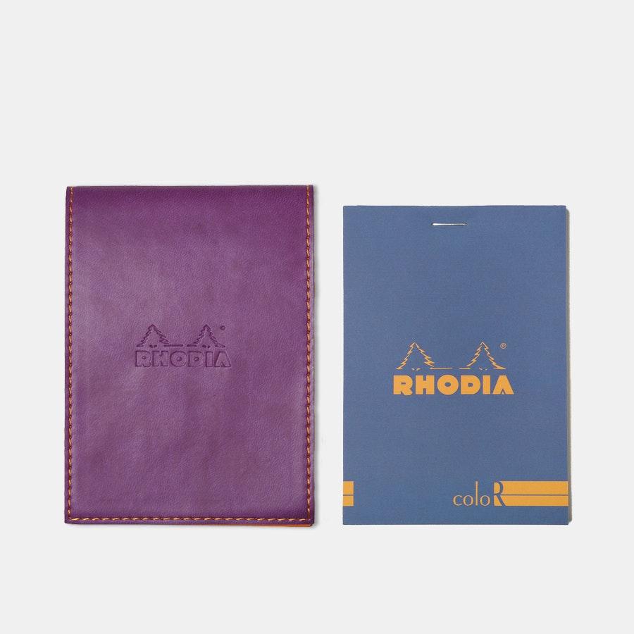 Rhodia ColoR Pocket Notepads & Holder