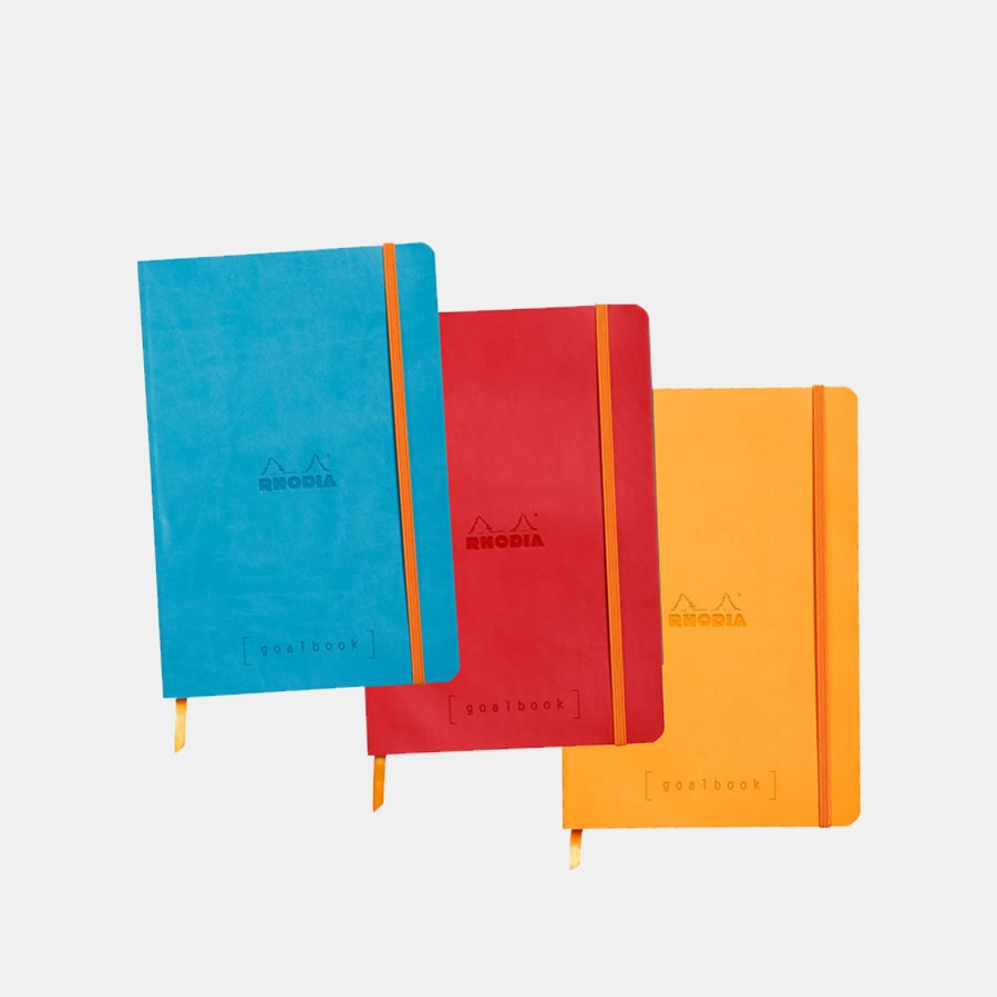 Rhodia A5 Goalbooks (3-Pack)