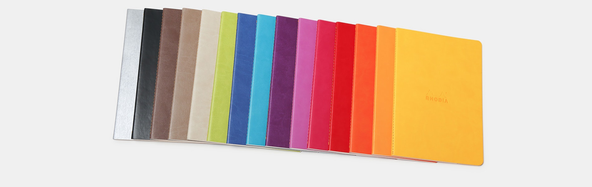 Rhodia Sewn-Spine Rhodiarama Notebooks (4-Pack)