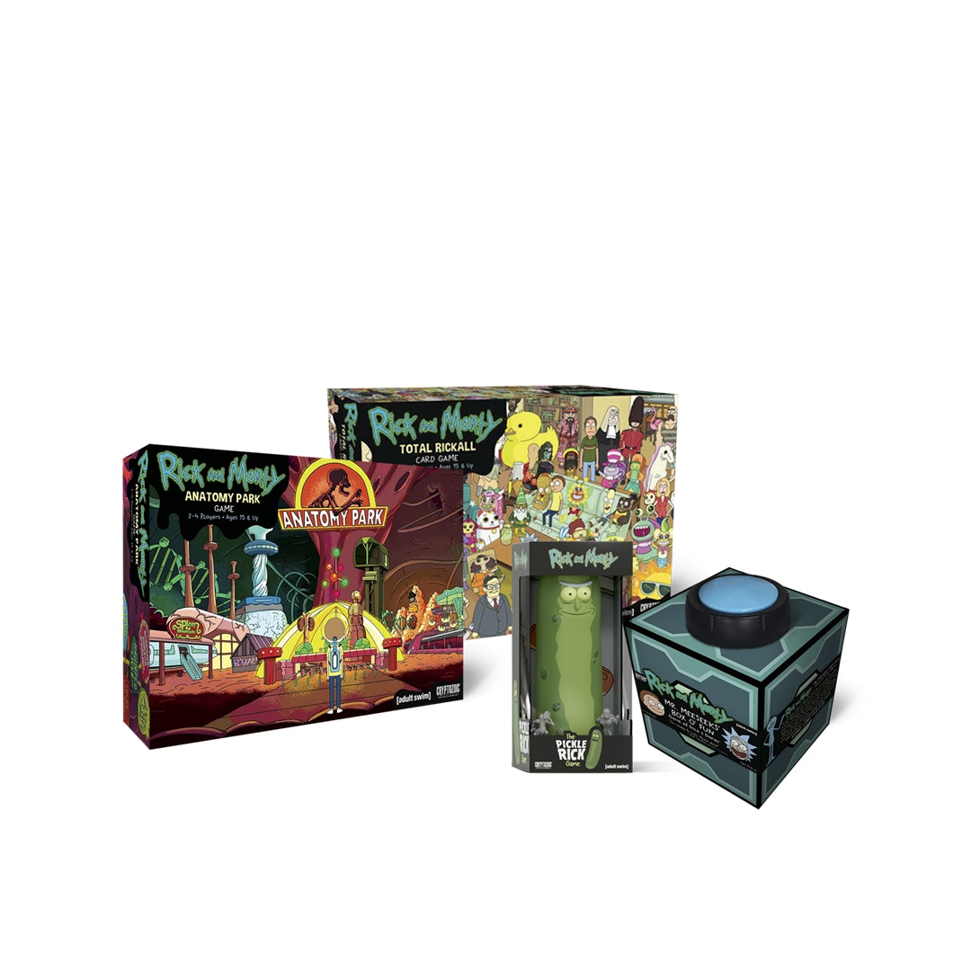 Rick and Morty Board Game Bundle