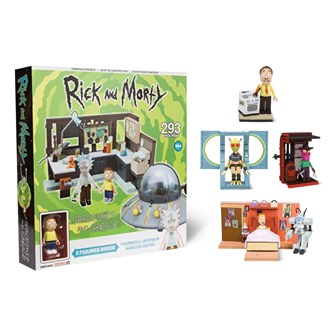 Rick & Morty Construction Sets Bundle