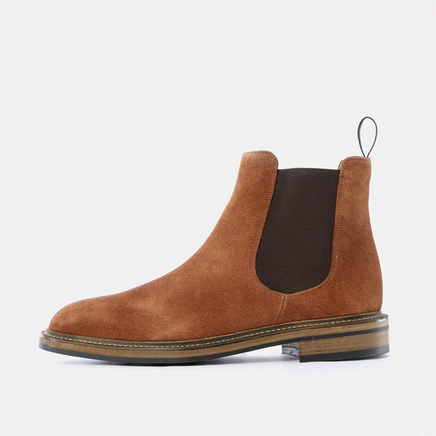 Rider Boot Co. Reverse Kudu Chelsea Boots