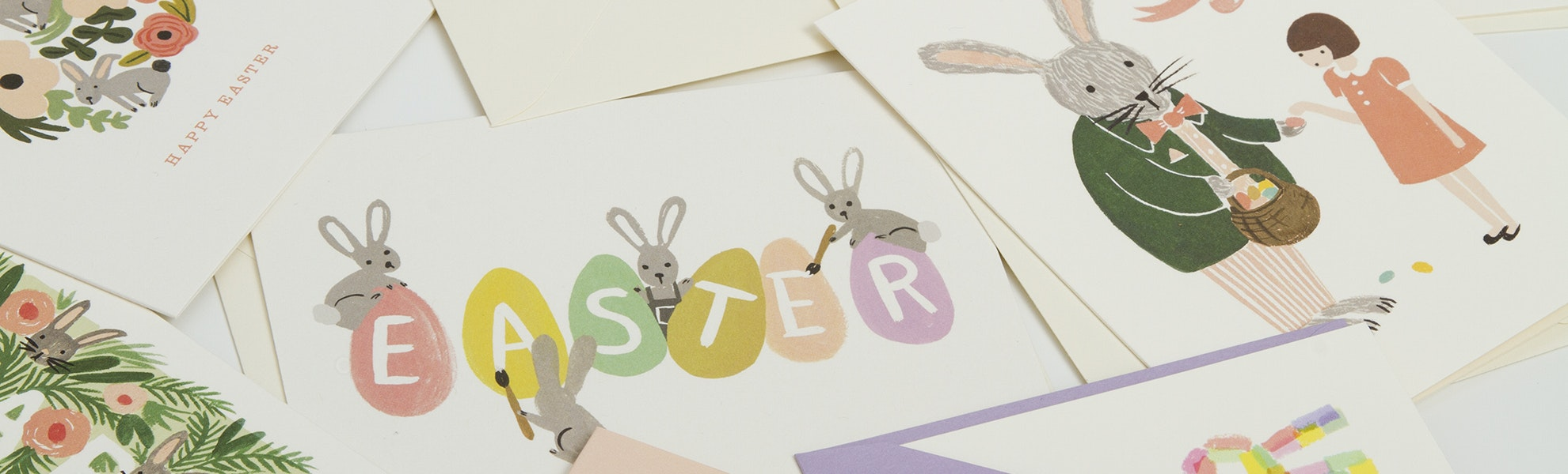Rifle Paper Co. Easter Cards (3-Pack)