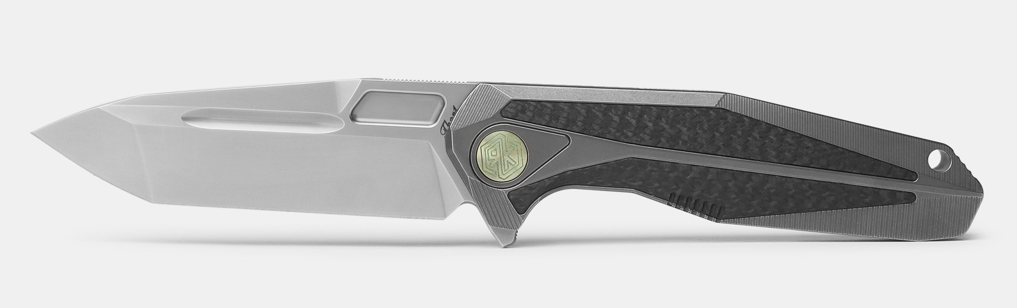 Rike Knife Thor 1-CF Integral Frame Lock Folder
