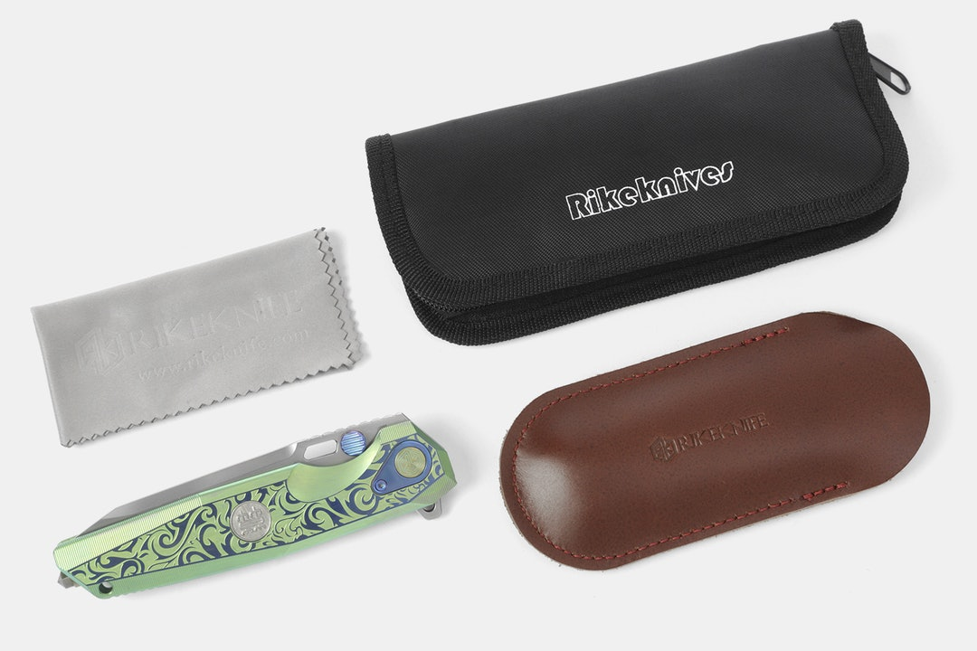Rike Knife Thor 2 Titanium Frame Lock Folders