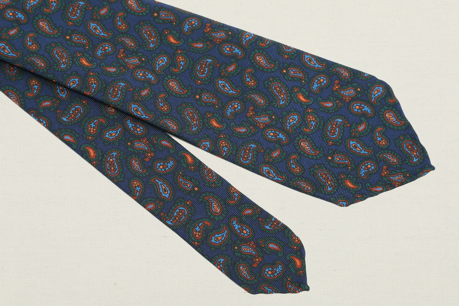 Robert Keyte Deadstock Ancient Madder Ties