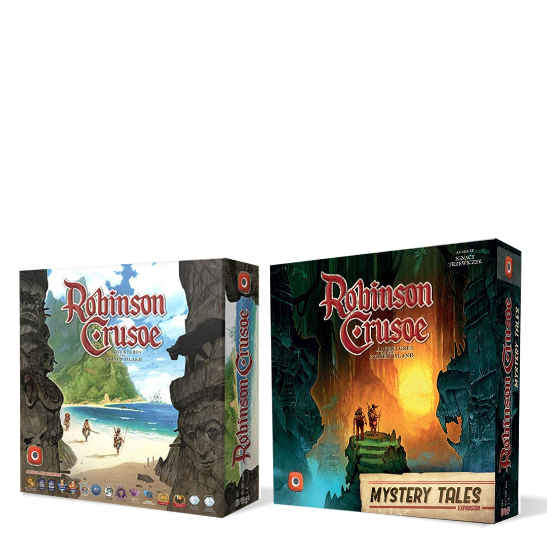 Robinson Crusoe: Adventures 4E Bundle