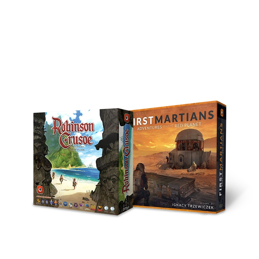 Robinson Crusoe & First Martians Bundle