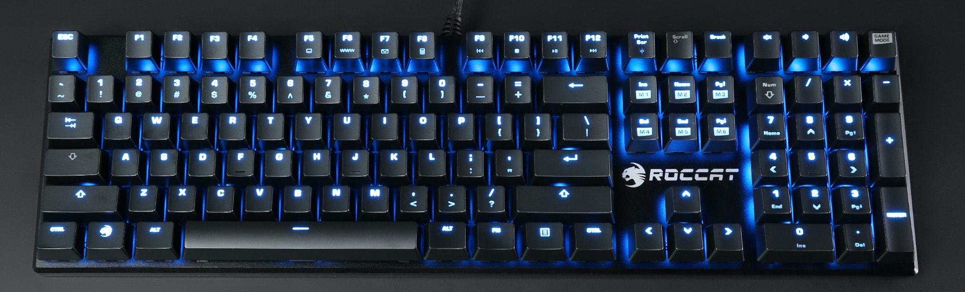 Roccat Suora Frameless Mechanical Keyboard Bundle