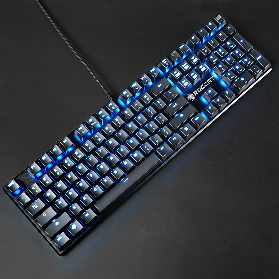 Roccat Suora Frameless Mechanical Keyboard Bundle