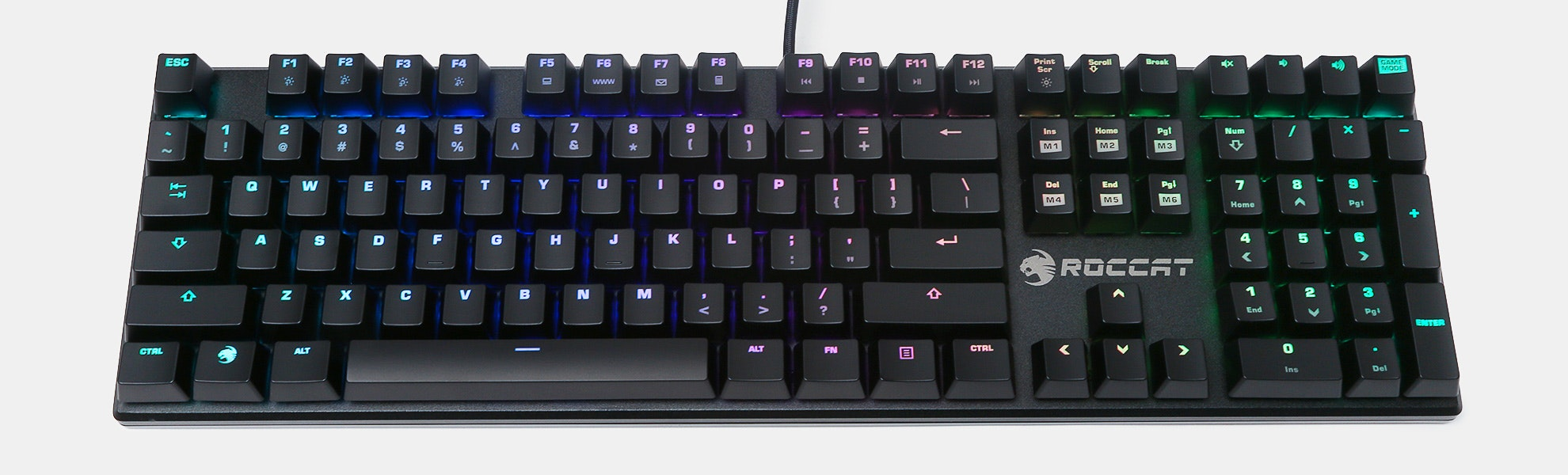 Roccat Suora FX RGB Mechanical Gaming Keyboard