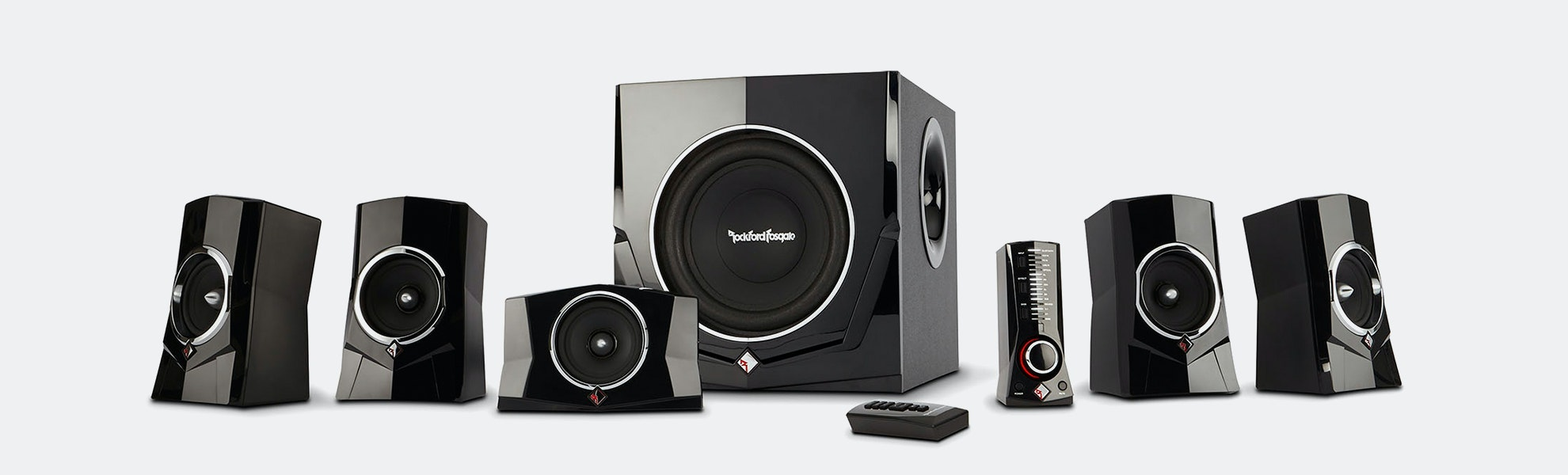 Rockford Fosgate 5.1 Powered Speaker System