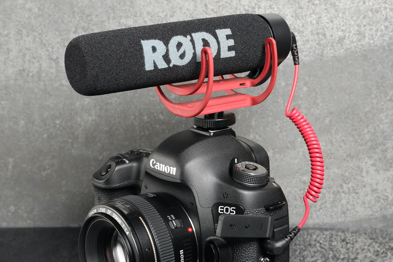 RØDE VideoMic Go & Rycote Mini Windjammer