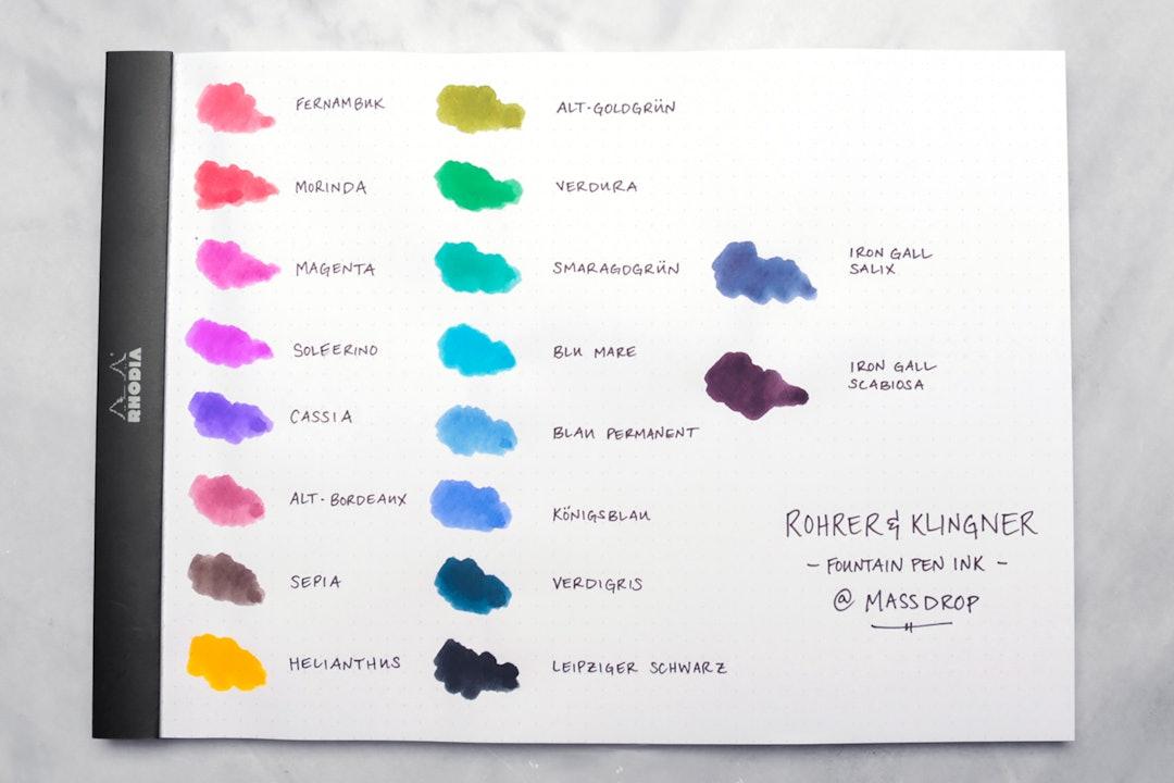Rohrer & Klingner Writing Ink (3-Pack)
