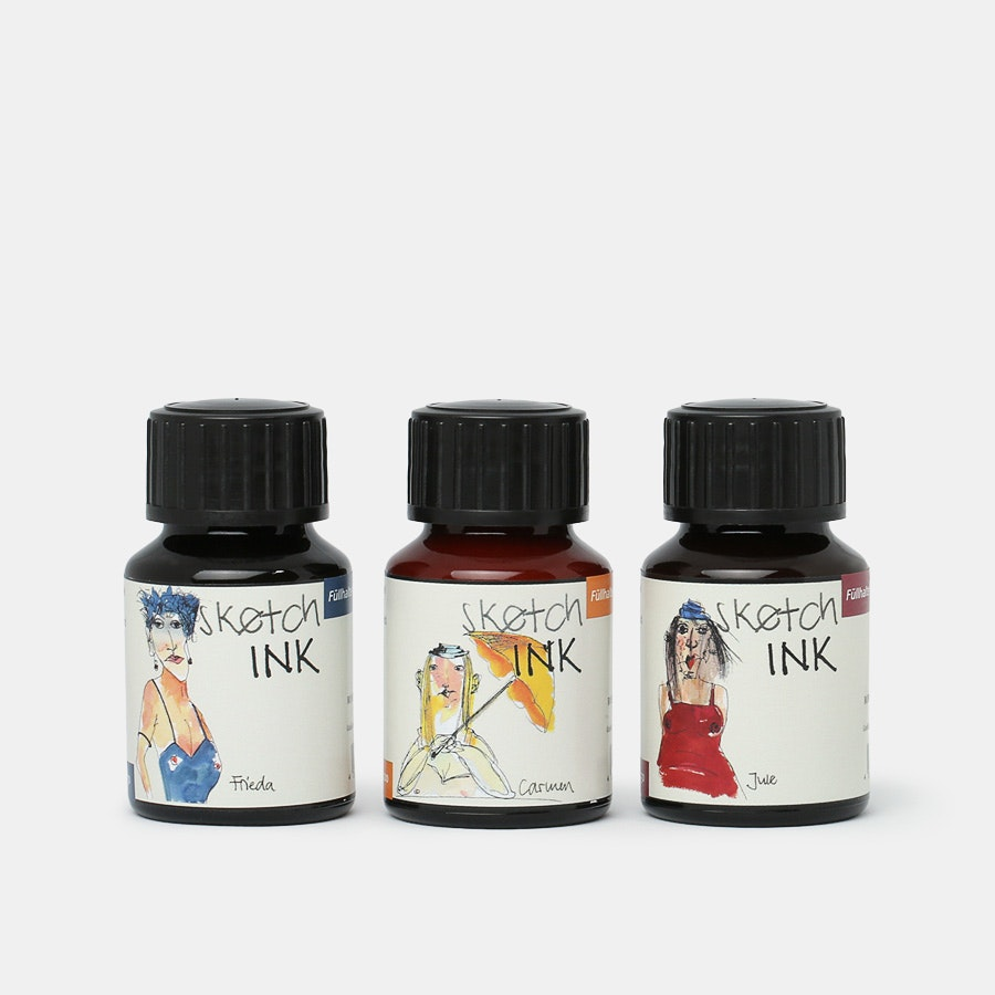 Rohrer & Klingner Waterproof SketchINK (3-Pack)