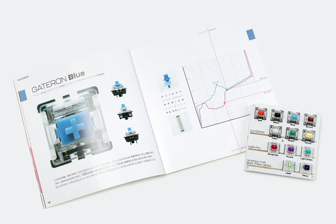 """Romly """"Early Access"""" Mechanical Switch Book"""
