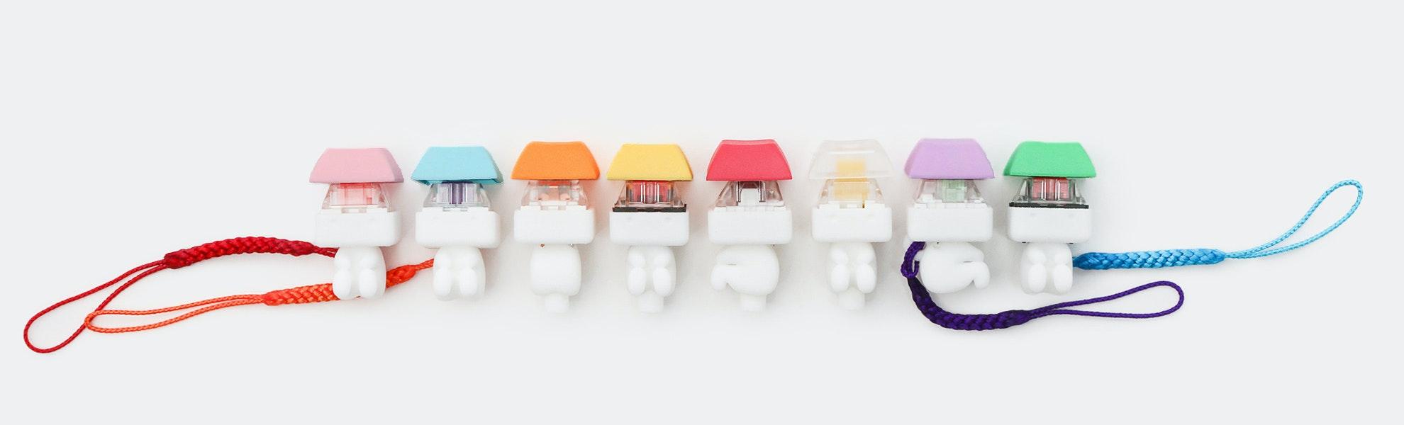 Romly Keycappie Novelty Keycaps/Keychains (2-Pack)