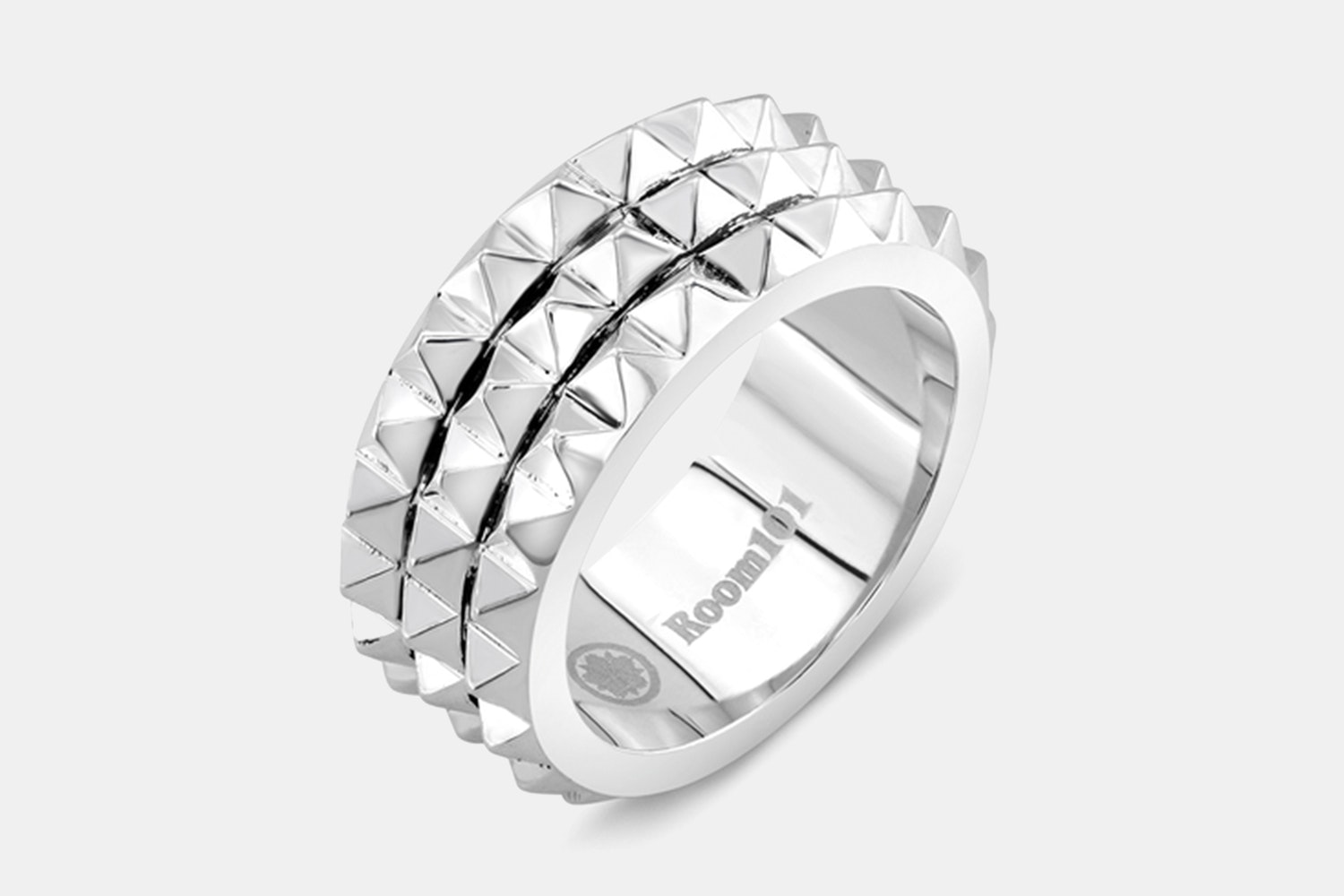Multi Spike Stainless Steel Ring - Stainless Steel