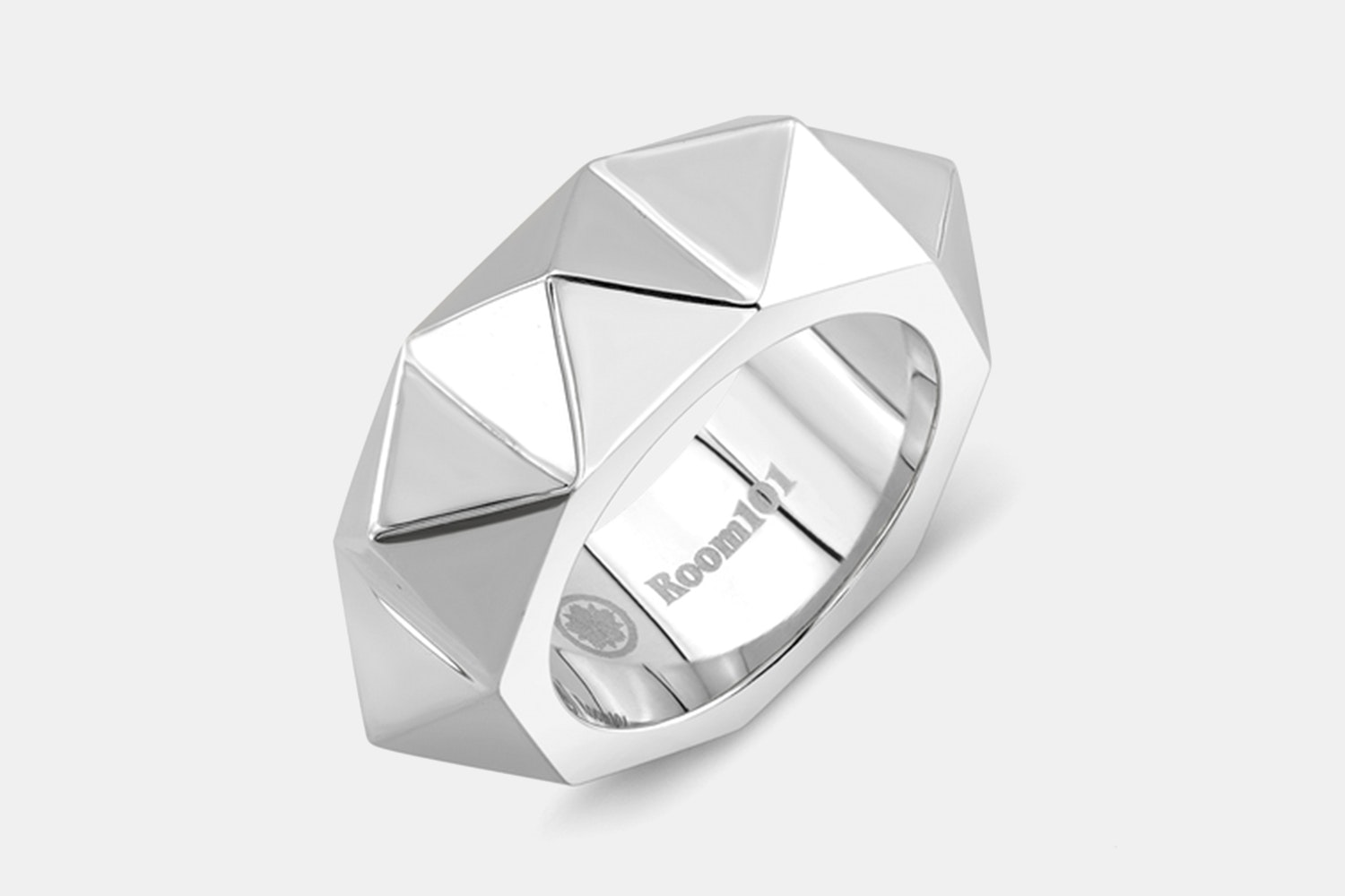 Punk Stainless Steel Ring - Stainless Steel Matte