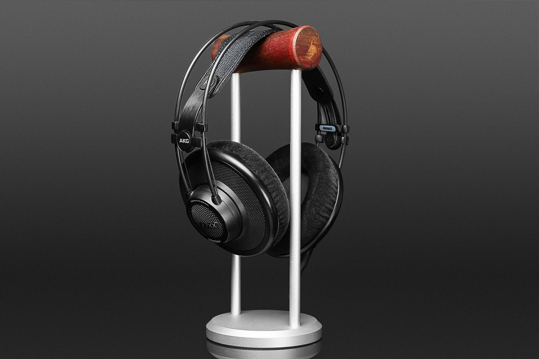Cocobolo Wood Headphone Stand