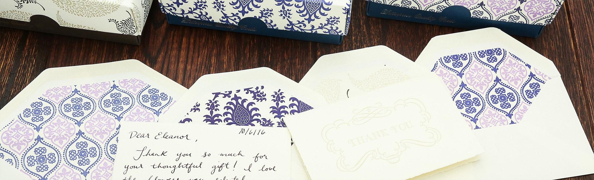 Rossi Letterpress Stationery Bundle