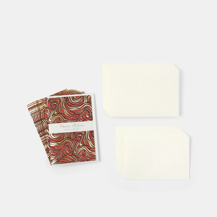 Rossi Marbled Stationery Set (2-Pack)