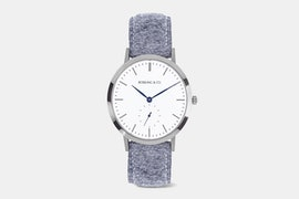 RO-003-018 - Stirling - Silver / Tweed