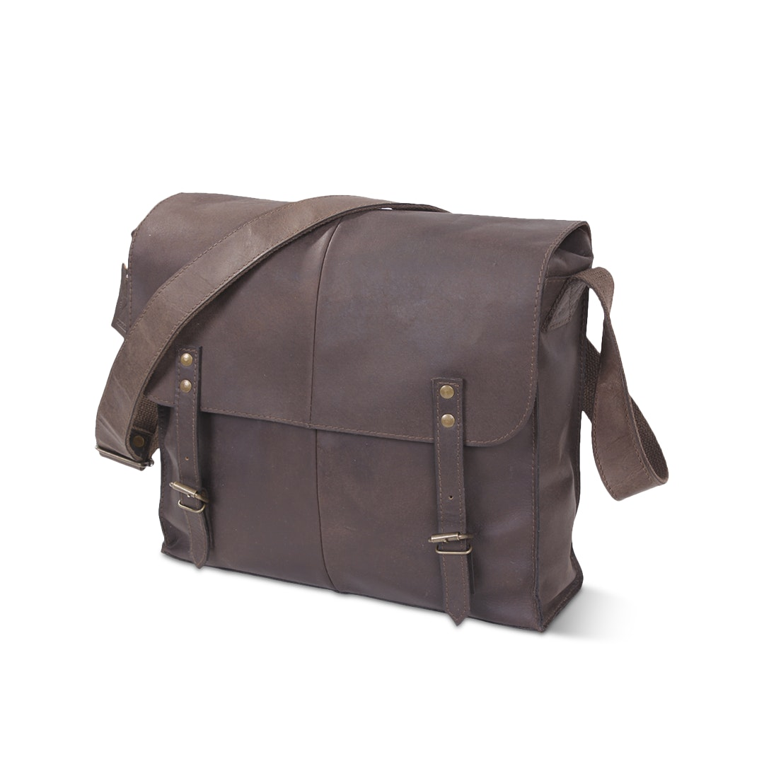 Rothco Brown Leather EDC Bags