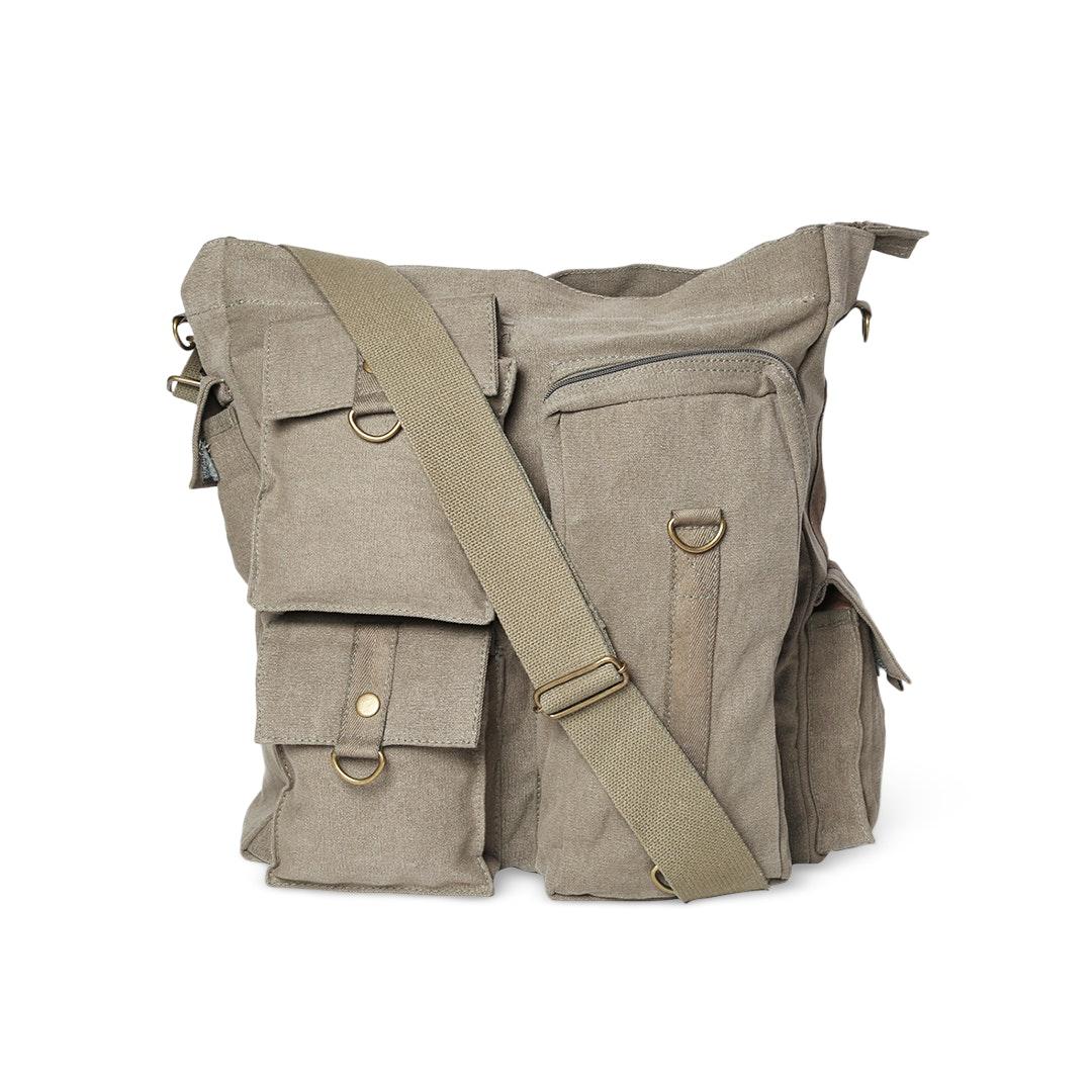 Rothco Vintage Multi-Pocket Messenger Bag