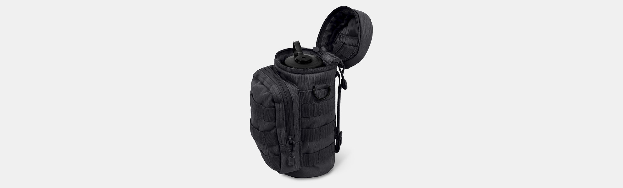 Rothco Water Bottle Survival Kit w/ MOLLE Pouch