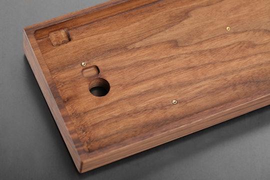 Royal Glam 60% Wood Keyboard Case