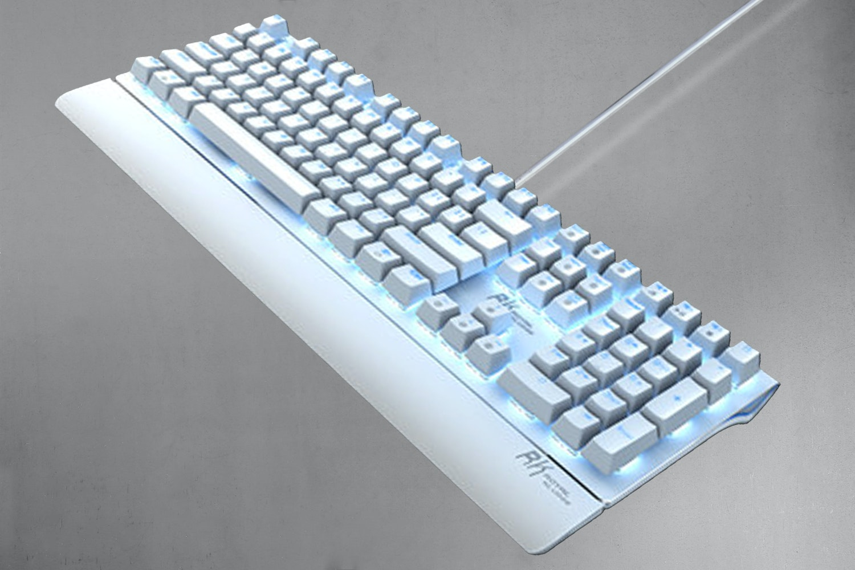 White Case / Blue LED