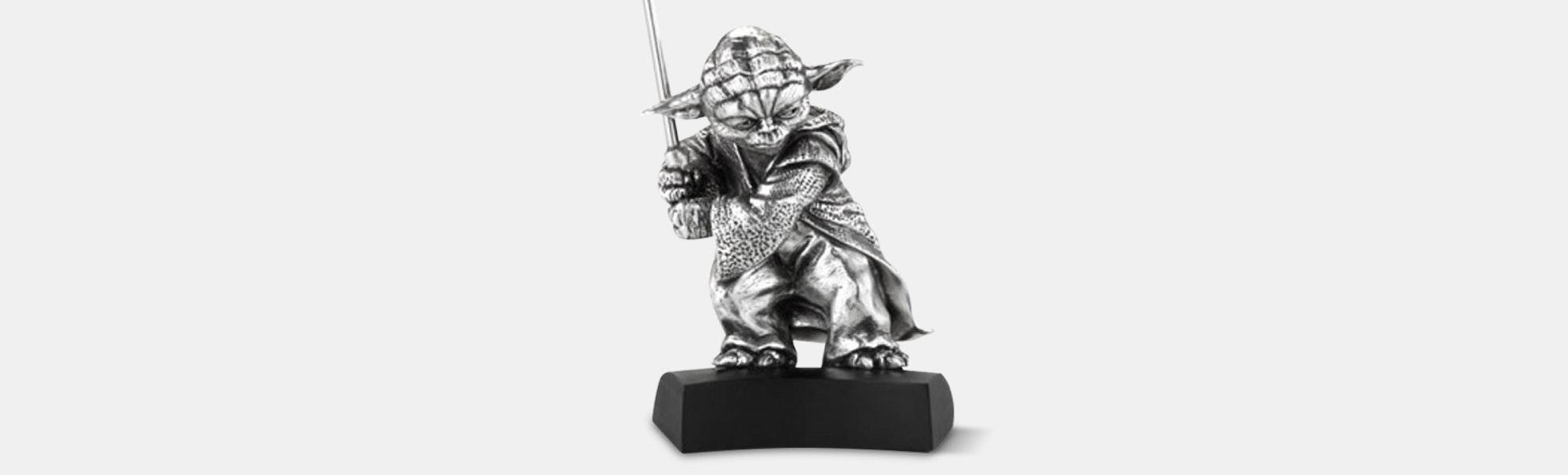 Royal Selangor Yoda Pewter Statue