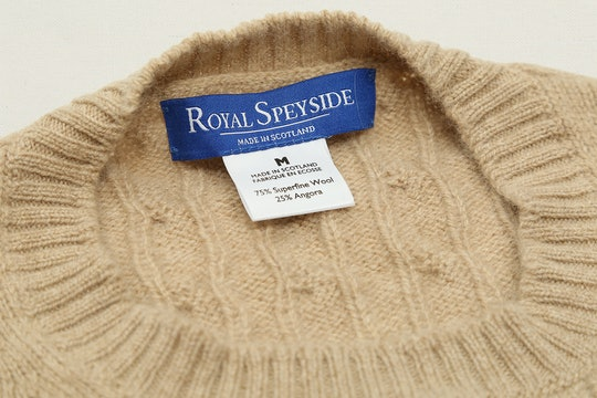 Royal Speyside Cable-Knit Sweater