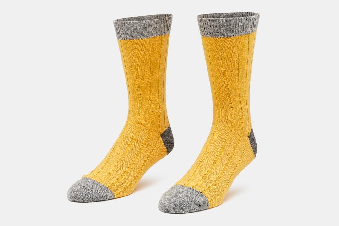 Royal Speyside Cashmere Blend Socks (2-Pack)