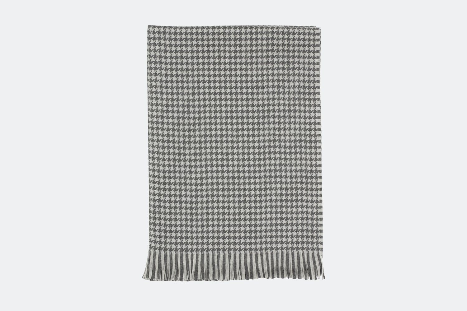 Mid Grey & White Houndstooth