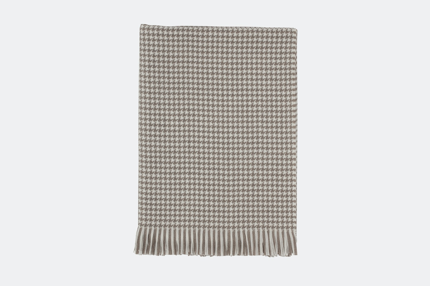 Driftwood & White Houndstooth