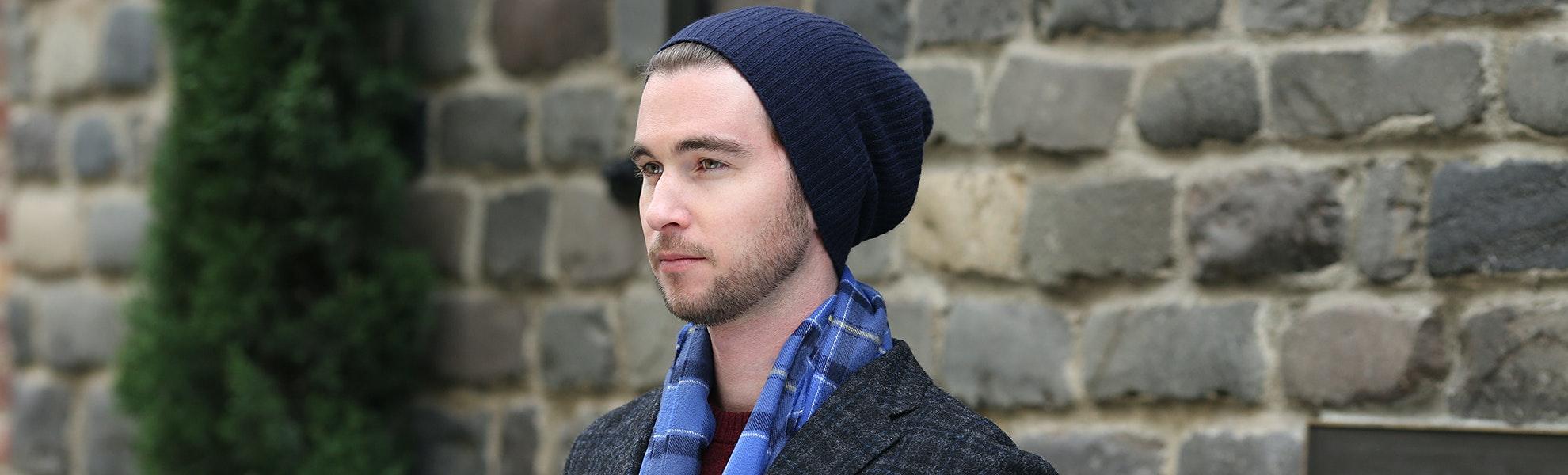 Royal Speyside Ribbed Knit Hats