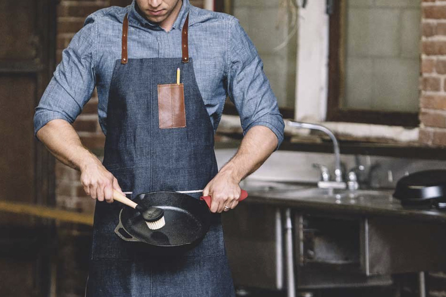 RPMWEST Japanese Selvedge Denim Apron