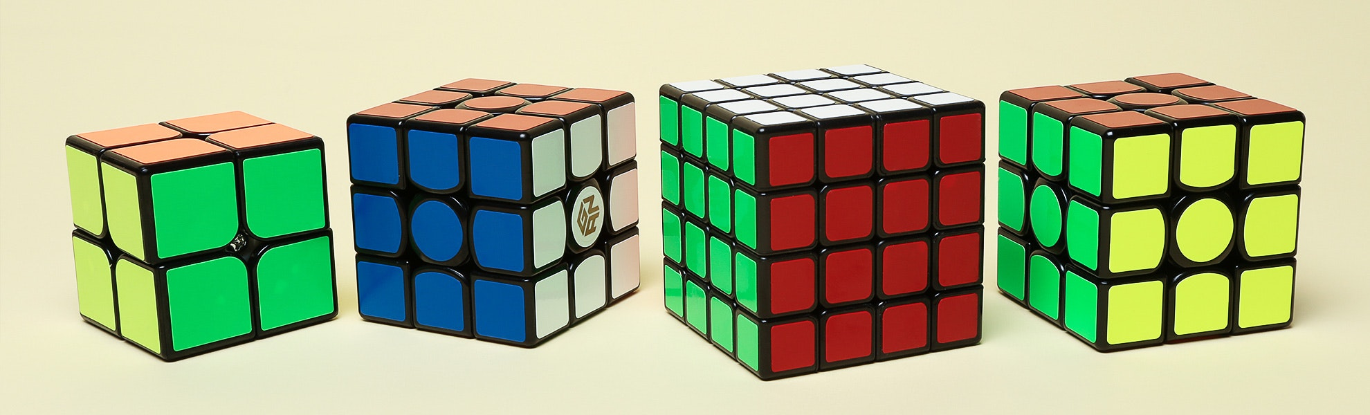 Speed Cube Bundle: 2x2, 3x3 & 4x4