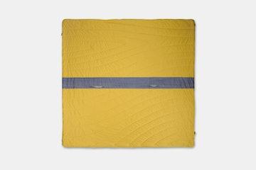 Waves Super Fleece – Yellow/Waves