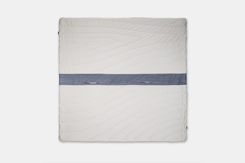 Waves Super Fleece – Stone/Waves