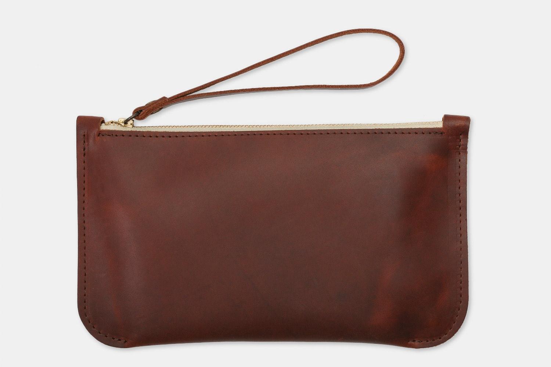 Rustico Brooklyn Leather Clutch