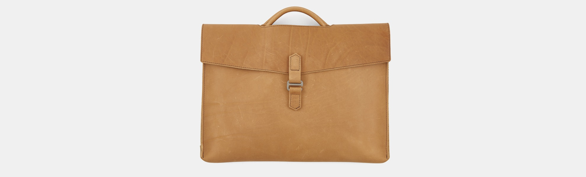 Rustico Diplomat Leather Attaché