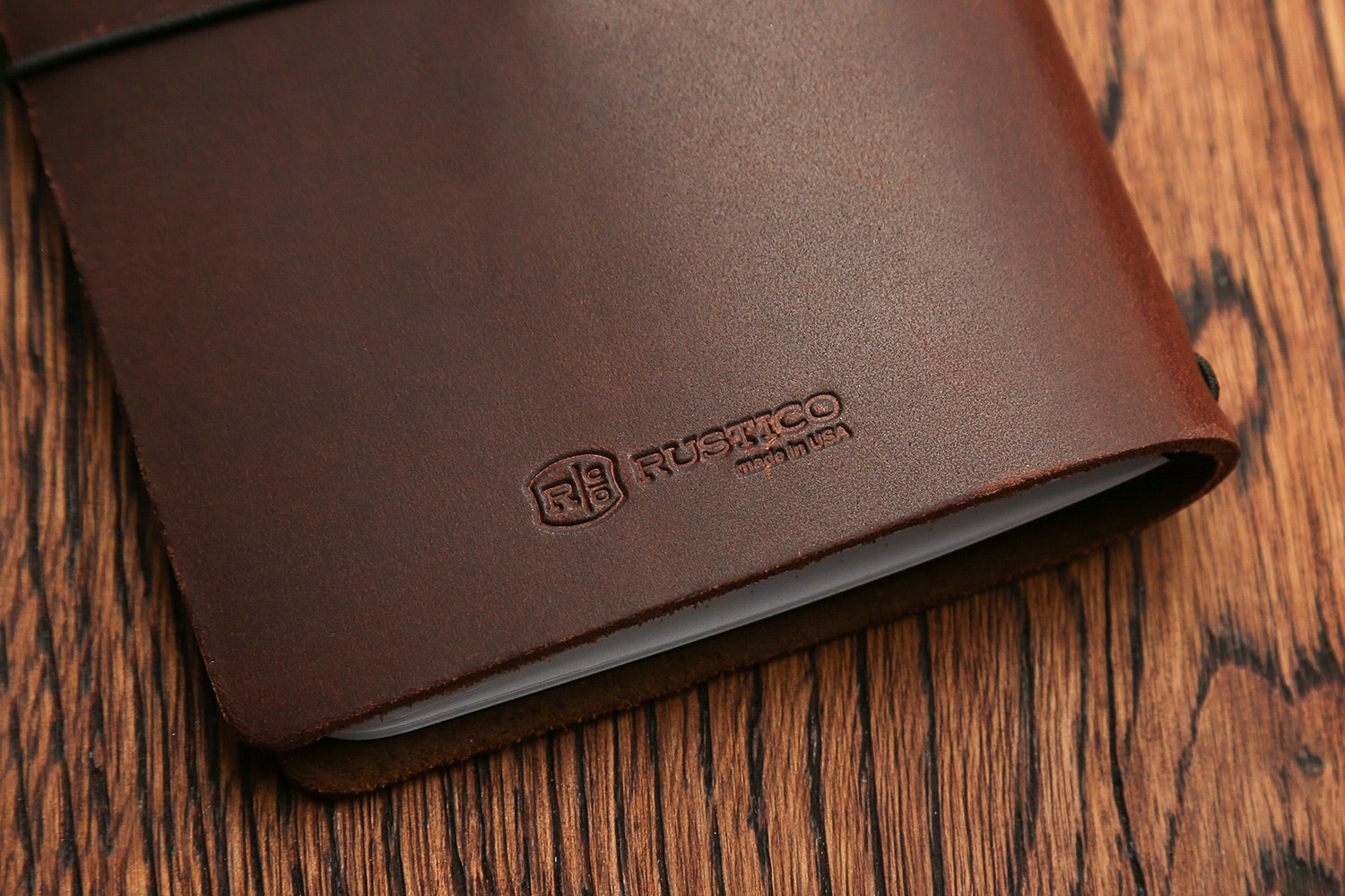 Rustico Expedition Point Five Leather Notebook