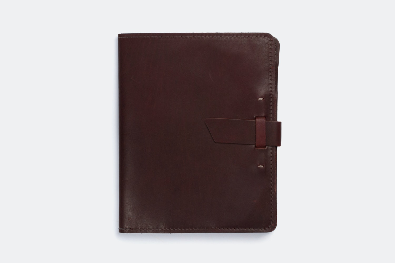 iPad Case - Burgundy