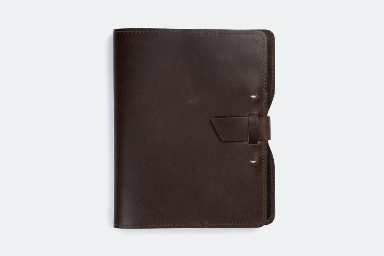 Ipad X Case - Dark Brown