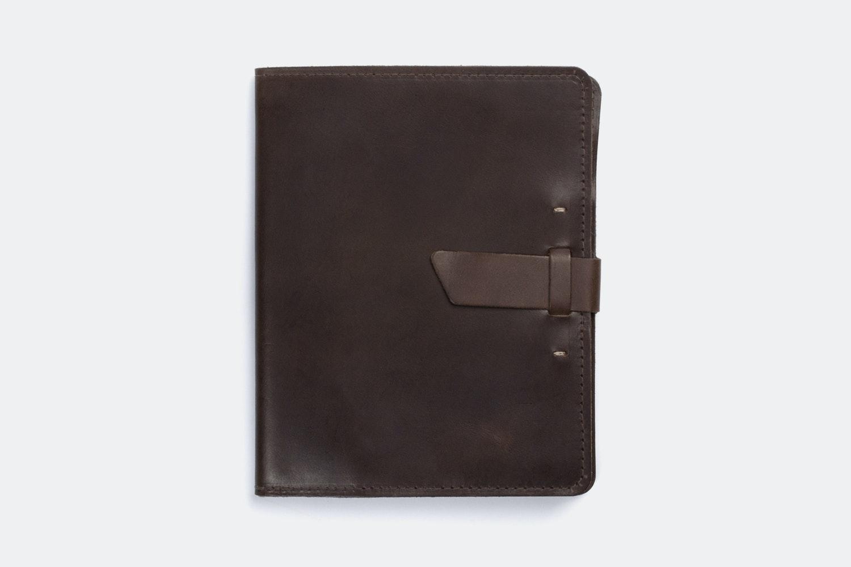 iPad Case - Dark Brown